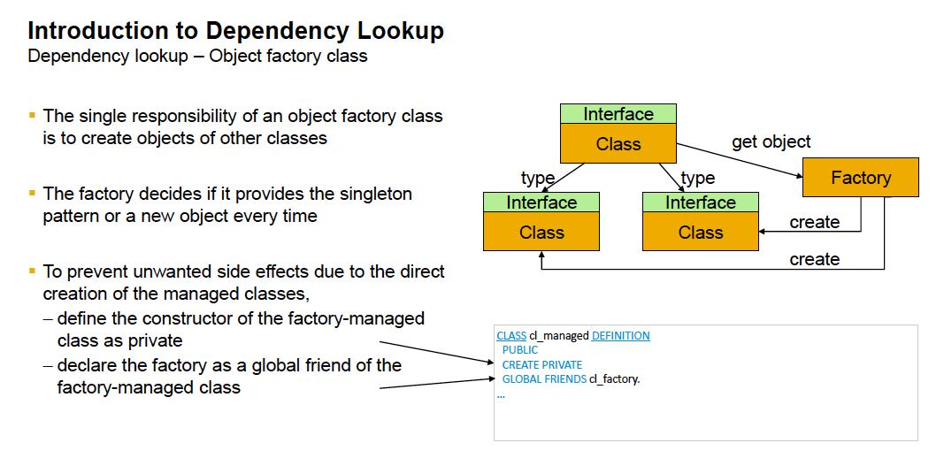 Object Factory Class
