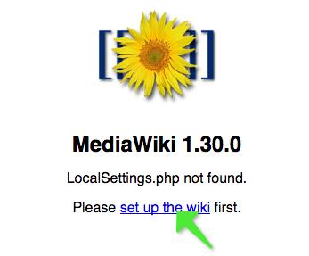 How to Setup MediaWiki    | Wiki chairat me